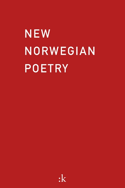 Omslaget til New Norwegian Poetry